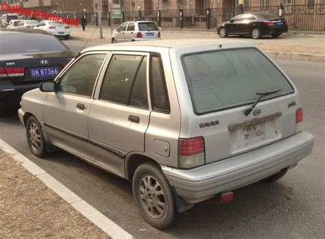 the ultimate car guide kia pride sedan generation 1 1992 2000 spotted in china kia pride hatchback carnewschina com
