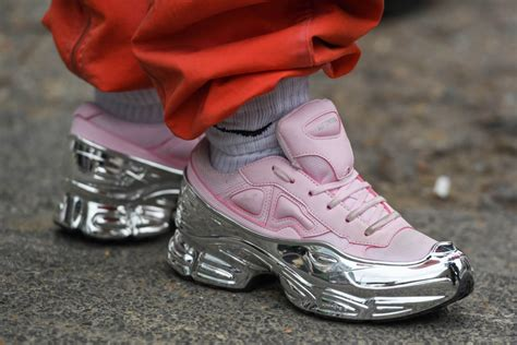 raf simons shoes 2019 fashion week s style loafers chunky sneakers footwear news