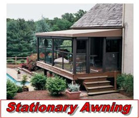 stationary awnings for decks stationary awning installation chester county milanese remodeling