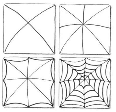 pattern of web spinnenweb tekenen herfst pinterest