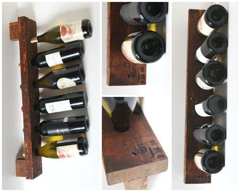 Handmade Wine Rack - 15 awesome handmade wine rack displays for a rustic look