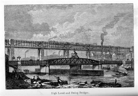 when was the swing bridge built newcastle swing bridge heddon on the wall local history