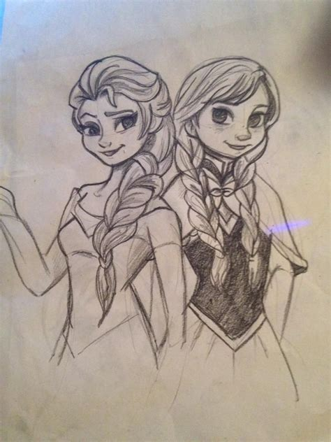 doodle draw frozen frozen disney drawings want to draw