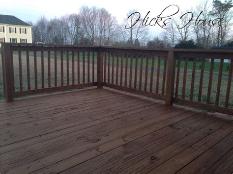 patio porch deck stain hicks house