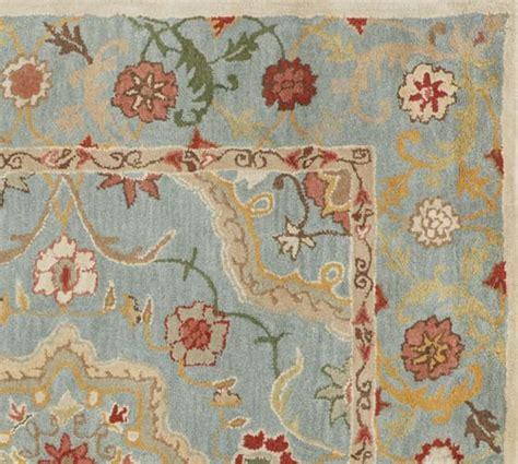 Pottery Barn Floral Rug by Leslie Style Rug Pottery Barn