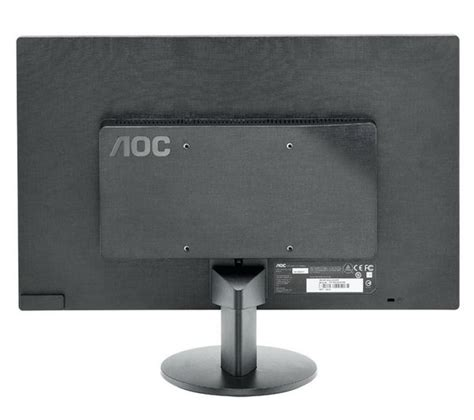 Monitor Komputer Led Aoc aoc e2070swn 19 5 quot led monitor deals pc world