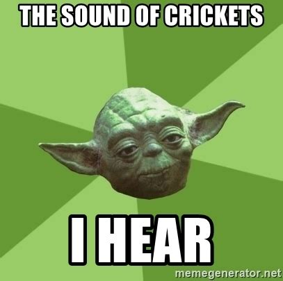 Crickets Chirping Meme - crickets chirping meme 28 images pics for gt cricket