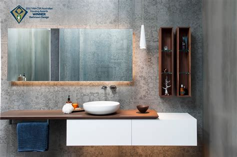 bathroom by design minosa australian hia bathroom design of the year 2017