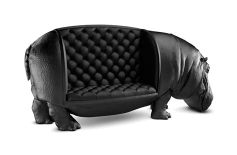Sofa Unik new hippopotamus chair by maximo riera is the size of a real hippo bored panda