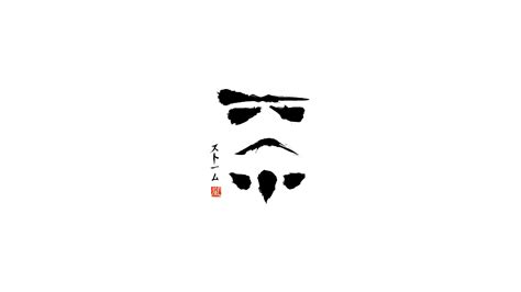 black and white japanese wallpaper ink stormtrooper full hd wallpaper and background