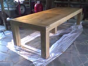 plan pour fabriquer une table de jardin en bois jsscene