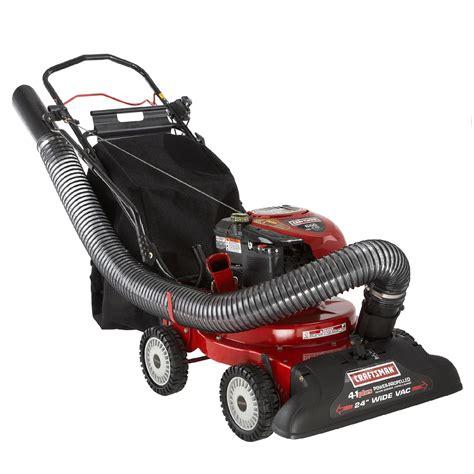 Lawn Vaccum chipper vacs shop lawn power equipment at sears