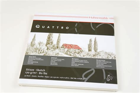 quattro sketchbook hahnemuhle quattro sketch pad ken bromley supplies
