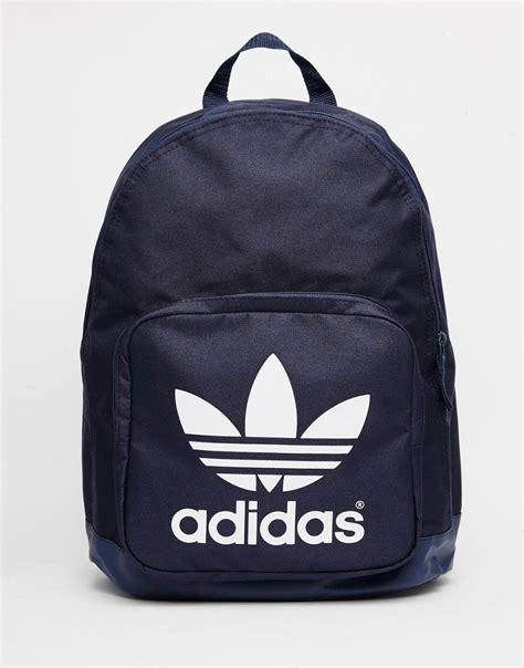 Adidas A Classic Backpack Adidas adidas adidas originals classic navy backpack at asos