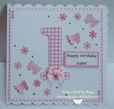 Handmade 1st Birthday Gifts - 25 best ideas about birthday cards on