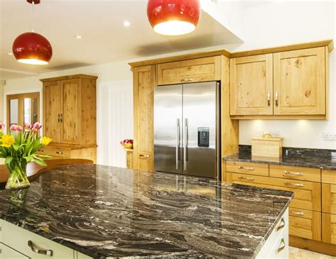 east norwich country kitchen beautiful silver forest granite designed and installed