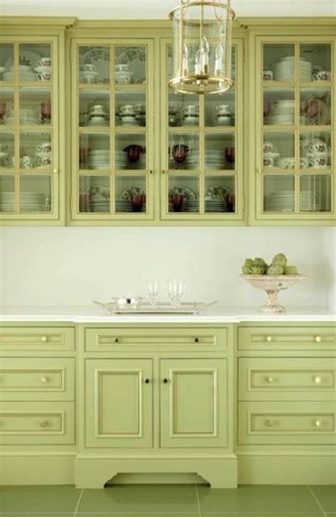 green kitchen cabinet paint colors for my home