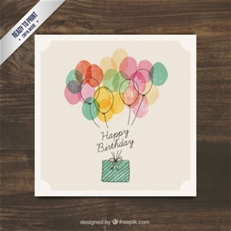 Amazing Christmas Cards On Sale #3: Watercolor-birthday-present-with-balloons_23-2147523640.jpg?size=338
