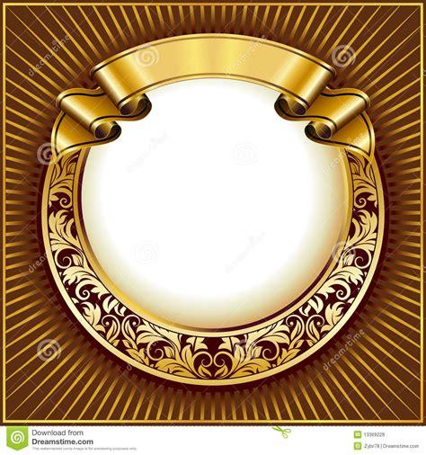 frame design gold 20 vintage circle designs images black vintage circle