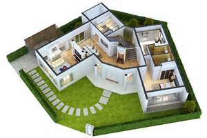 free 3d home layout design modern home 3d floor plans