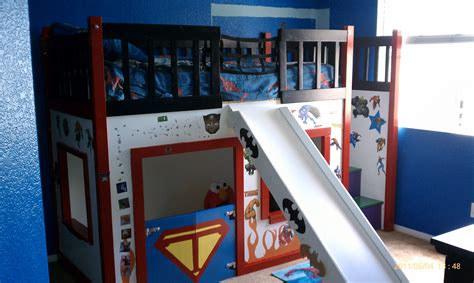 clubhouse bunk bed ana white super hero clubhouse bed diy projects