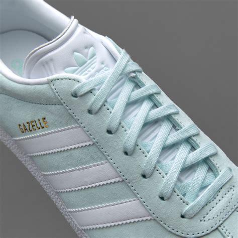cheap mens adidas gazelle mint white gold shoes