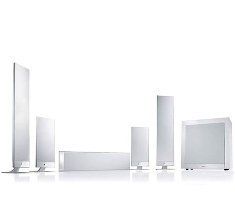 kef   home theatre speaker package white awe europe