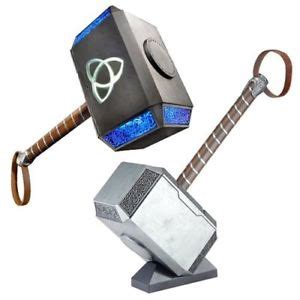 marvel legends series full size thor hammer electronic