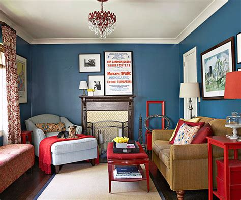 bold color decorating with bold colors