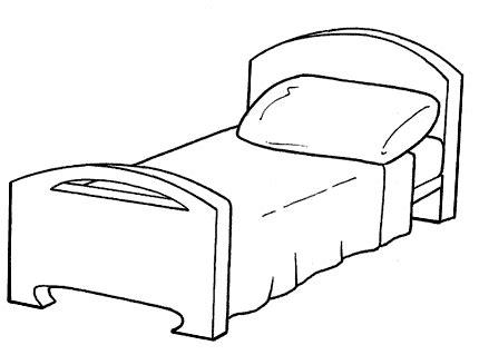 colorare la da letto midisegni it disegni da colorare per bambini