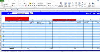 payment schedule template 5 bill payment schedule template pdf word excel tmp