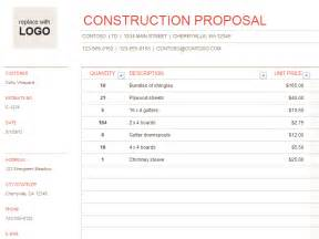 construction templates construction in nanopics construction bidding template excel