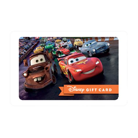 Www Speedway Com Gift Card Balance - your wdw store disney collectible gift card cars on the speedway