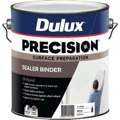 Sealer Dulux Dulux Precision Sealer Binderproduct Details Dulux