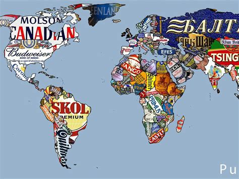 beers of the world maps business insider