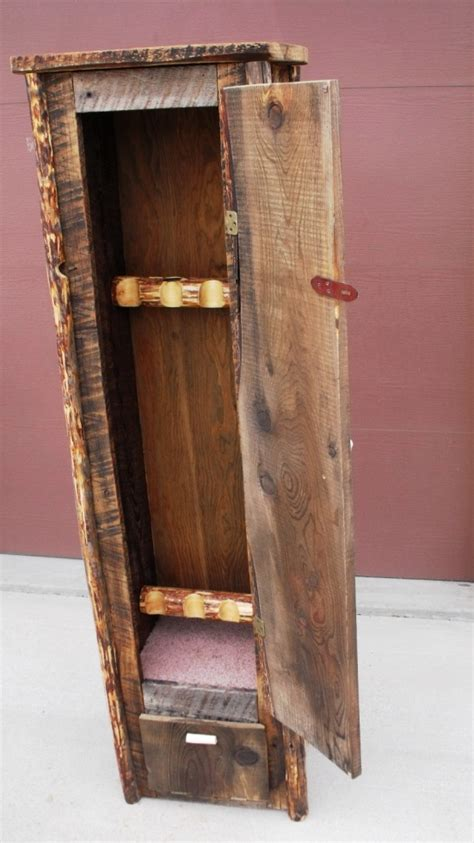 solid wood gun cabinet plans  woodworking