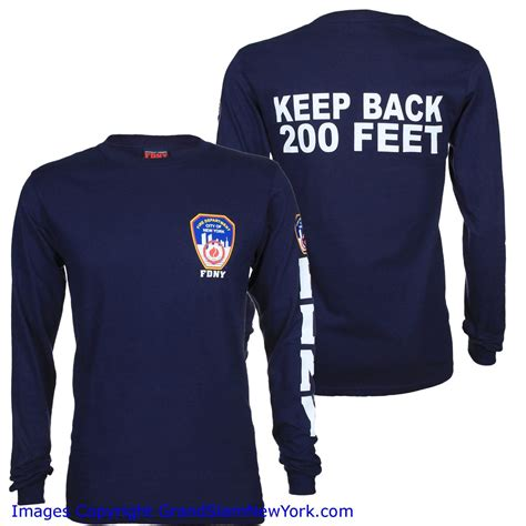 where to buy ls in nyc fdny patch and sleeve navy ls