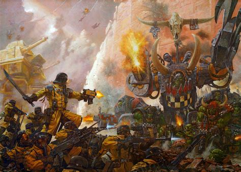 armageddon the battle for armageddon steel legion warboss thraka warhammer 40k