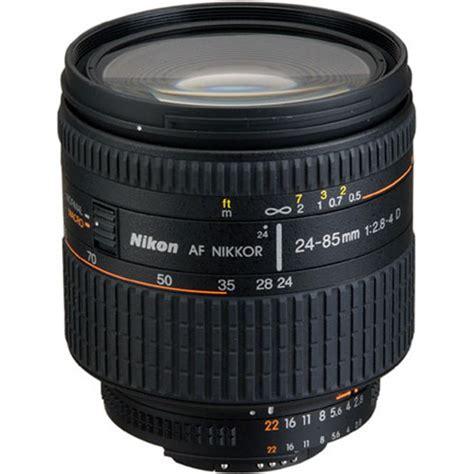 Lens Af 24 Mm F 2 8 D nikon af nikkor 24 85mm f 2 8 4d if lens open box 1929 b h