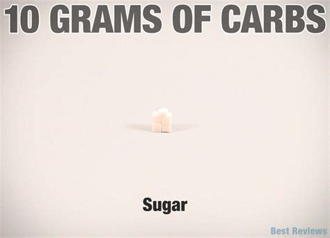 carbohydrates gif what does 10 grams of carbohydrates look like learn
