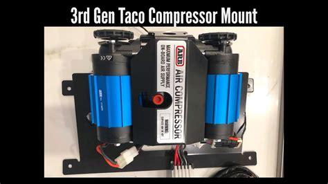 arb 3rd tacoma bed mount compressor bracket