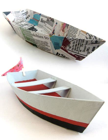 How To Make Paper House Boat - 1000 ideas about boat crafts on sail boat