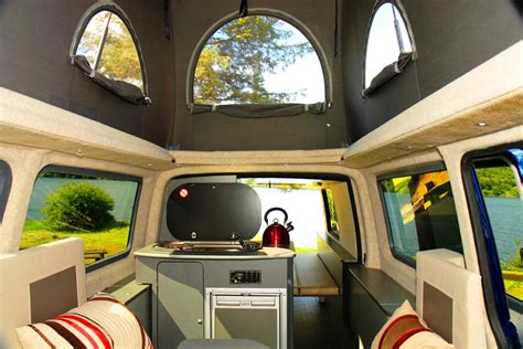 volkswagen van inside vw t5 cer van hire uk