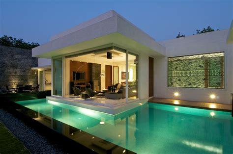best bungalow design in india minimalist bungalow in india idesignarch interior