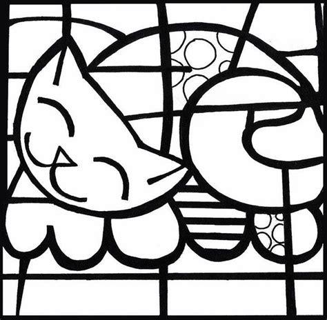 dibujos de romero britto para colorear simil romero brito para colorear crafts pinterest