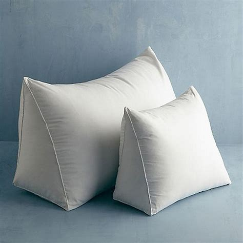 reading bed pillows firm 95 feather 5 down reading wedge pillow the