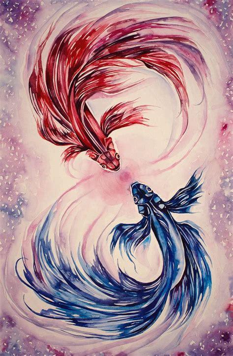 watercolor tattoo koi watercolor betta fish search my style