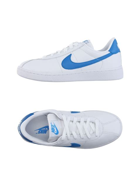 nike low tops sneakers in white for lyst