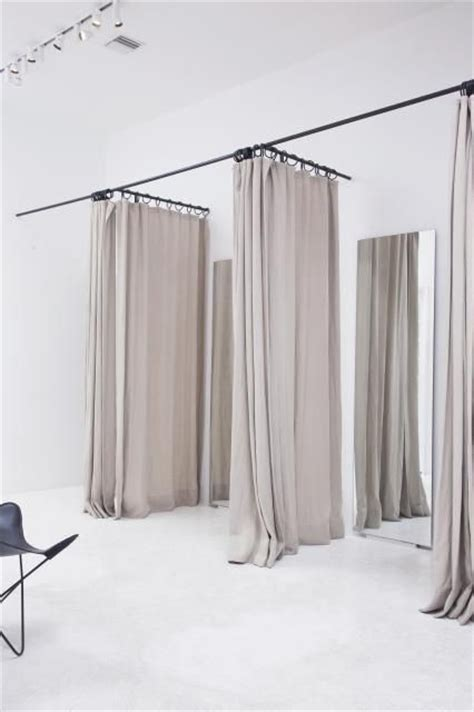 curtains for dressing room inside zimmerman boutique style de vie design shop