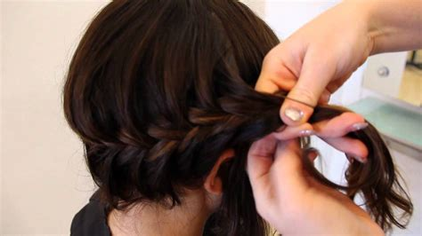 is there a professional length of hair for middle aged women fishtail rope braid for medium length hair hair tutorial
